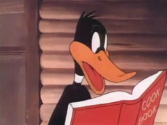 Daffy Duck - Along Came Daffy