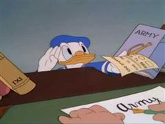 Donald Duck - Donald Gets Drafted