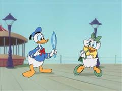 Donald Duck - Donald's Charmed Date