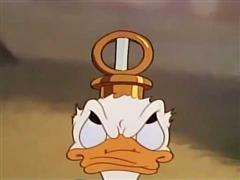 Donald Duck - Donald's Tire Trouble