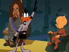 Daffy Duck - Duck Dodgers in Attack of the Drones