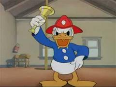 Donald Duck - Fire Chief