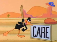 Daffy Duck - Mexican Mousepiece