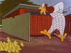 Foghorn Leghorn - Plop Goes the Weasel